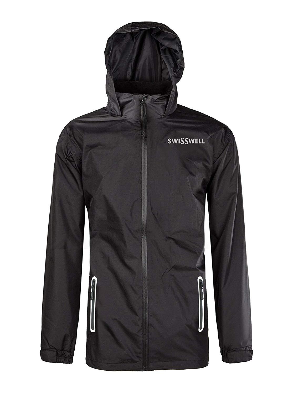 سويسويل Rain Suit للرجال ملابس واقيات للرأس (سترة و بنطلون)