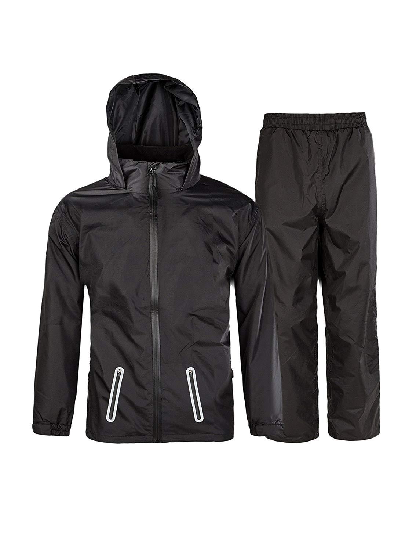 سويسويل Rain Suit لملابس السباحة ضد الماء للأطفال (سترة و بنطلون)
