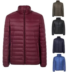 Ultralight duck down jacket