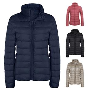 Women Stand Collor Ultralight down jacket