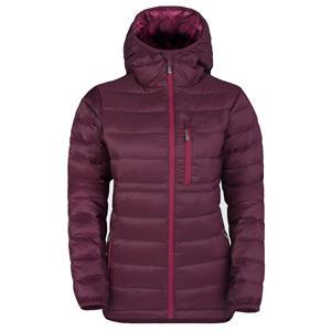 Filoment women hydrophobic hooded down jacket