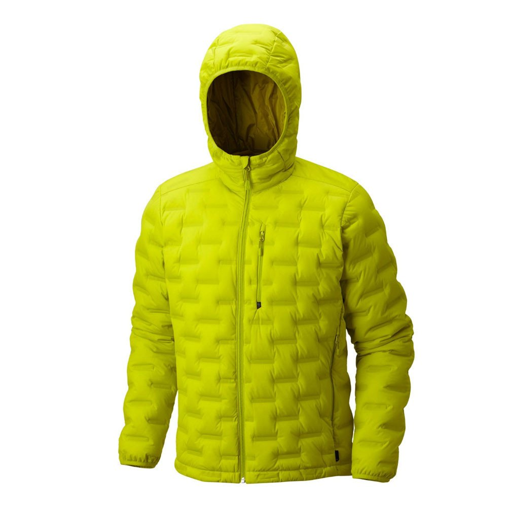 Men's strech welded down jacket with hoodie