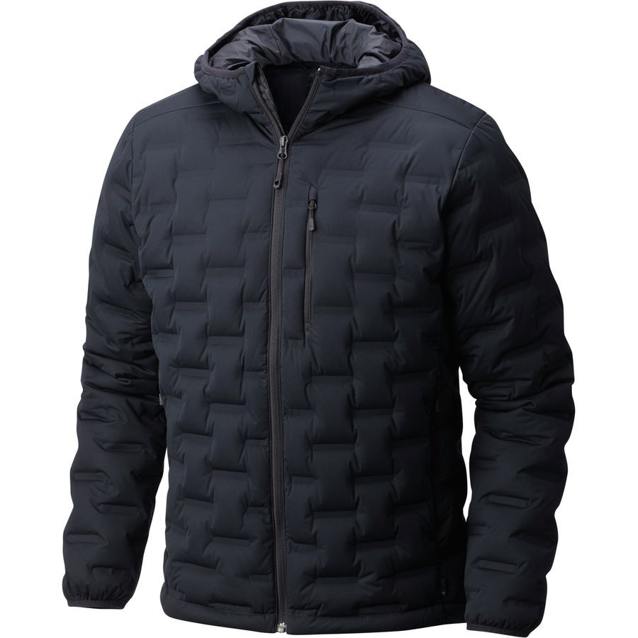Men's strech welded down jacket with hoodie Manufacturers, Men's strech welded down jacket with hoodie Factory, Supply Men's strech welded down jacket with hoodie