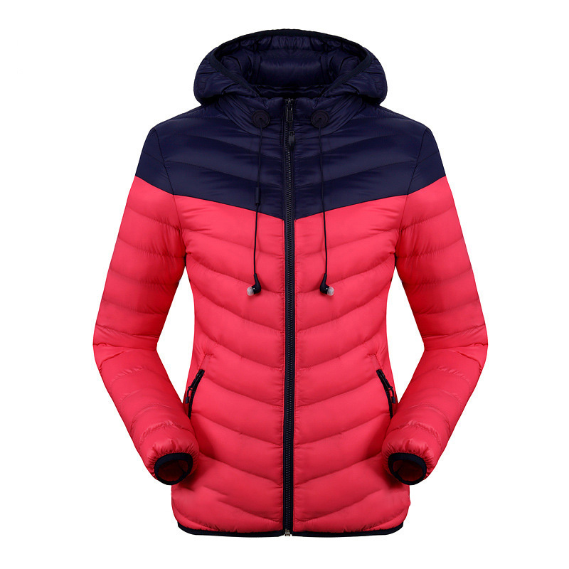 Breathable windproof padded down jacket