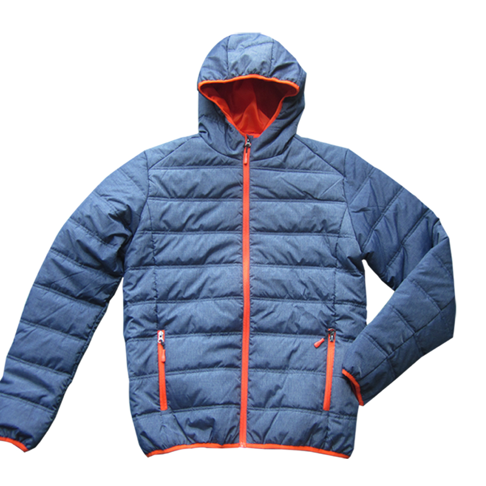 Wholesale nylon bomber puffer men padded jackets