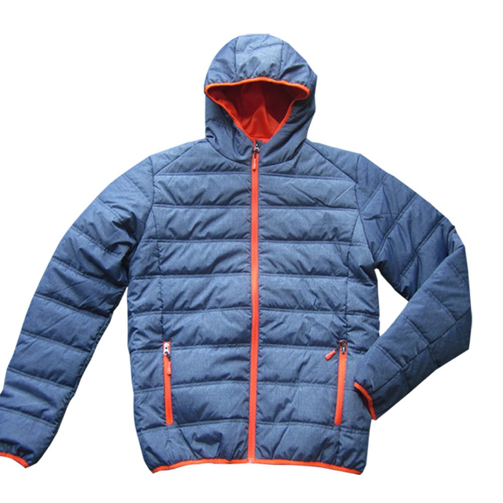 Wholesale nylon bomber puffer men padded jackets