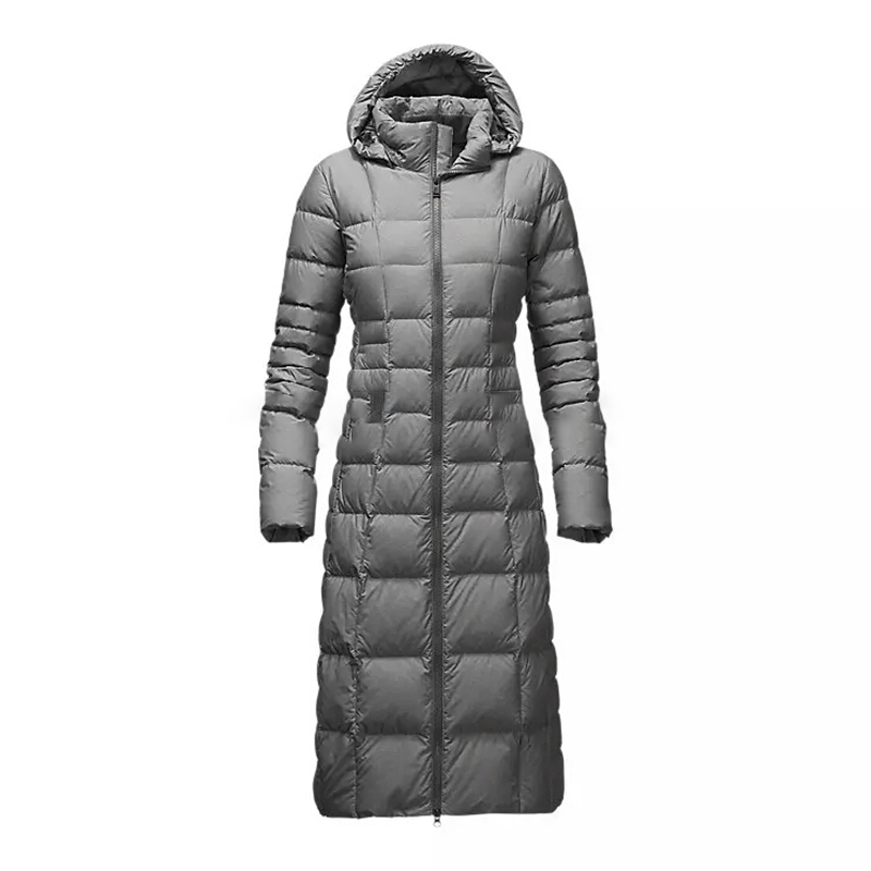 new model north long women hood winter down jacket