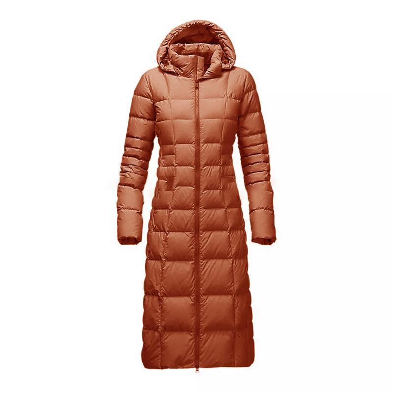 new model north long women hood winter down jacket Manufacturers, new model north long women hood winter down jacket Factory, Supply new model north long women hood winter down jacket
