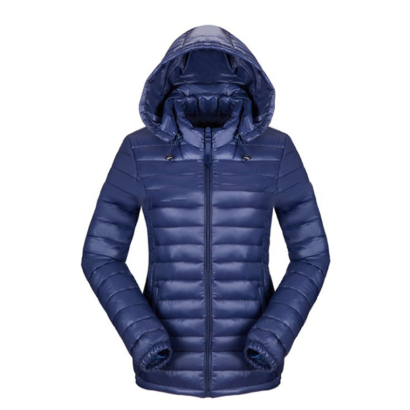 clothing women winter hoody down jacket