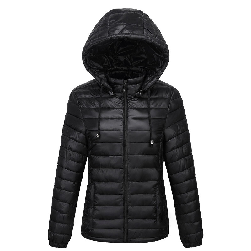 Ladies super thin thermal slim fit casual winter Jacket