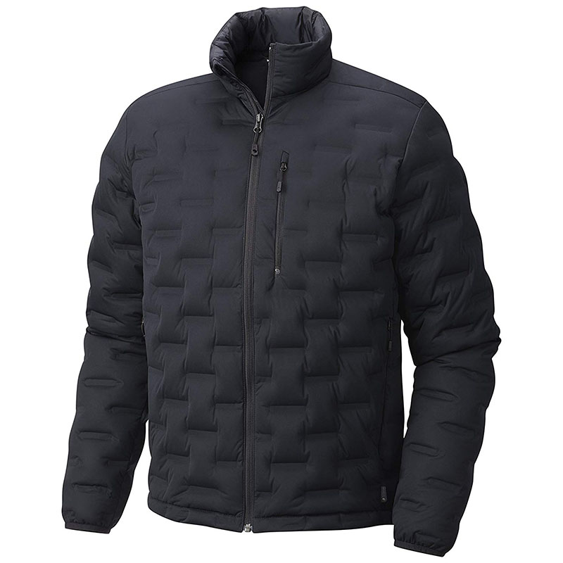 Men's ultra light down jacket without hood