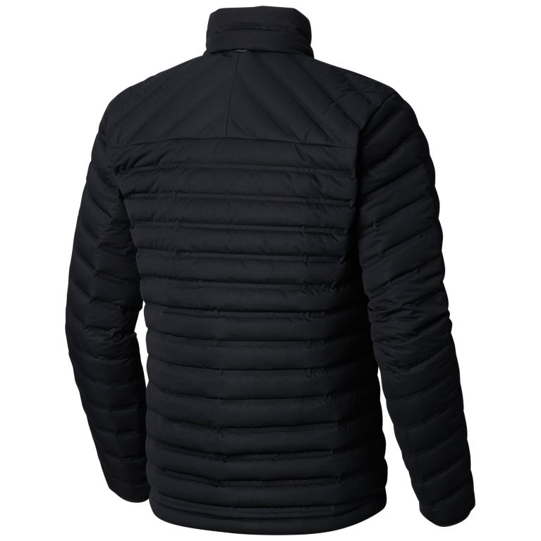 Men's strech weled down jacket without hood