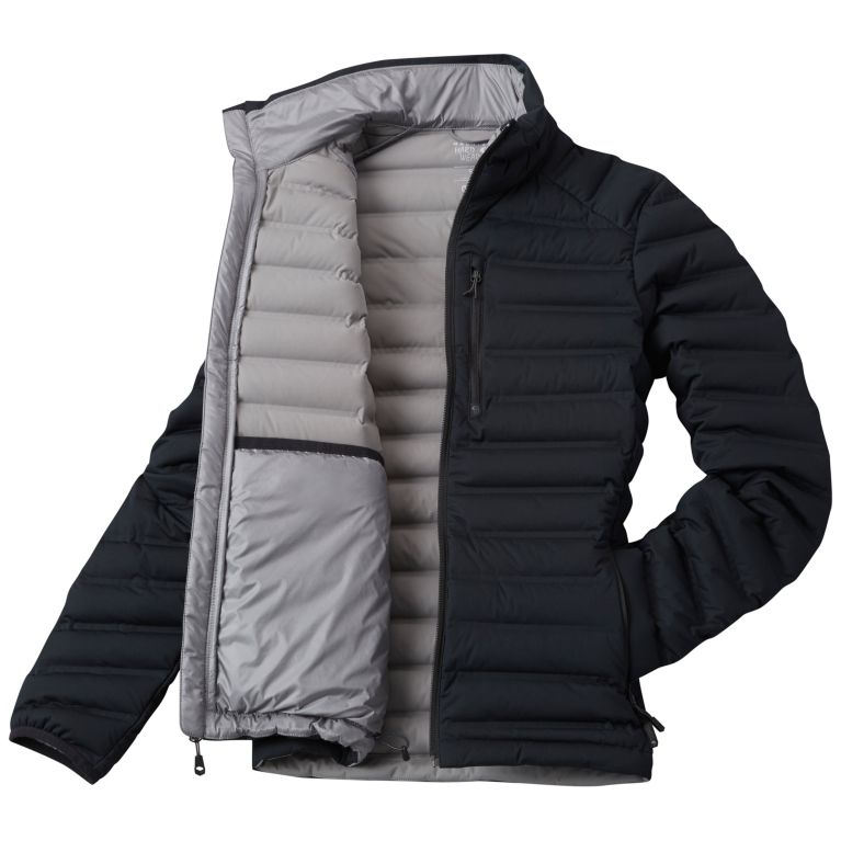 Women's strech weled down jacket without hood Manufacturers, Women's strech weled down jacket without hood Factory, Supply Women's strech weled down jacket without hood
