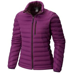 Women's strech weled down jacket without hood