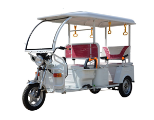 Passenger Electric Tuk Tuk Rickshaw 3 Seats