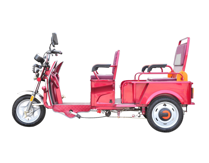 Folding passenger&Cargo Electric Tricycle