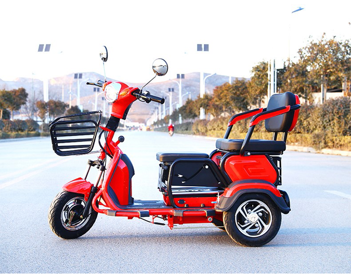 Folding 2 Seats Electric Trike