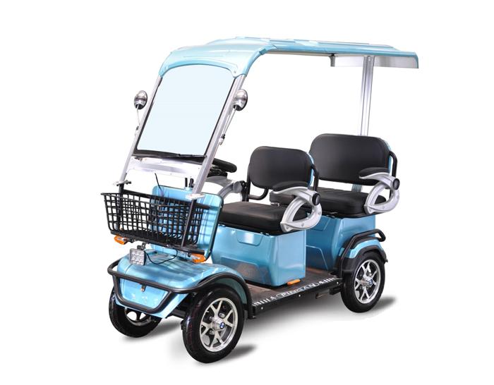 Smart 4 Wheels Electric Passenger Scooter