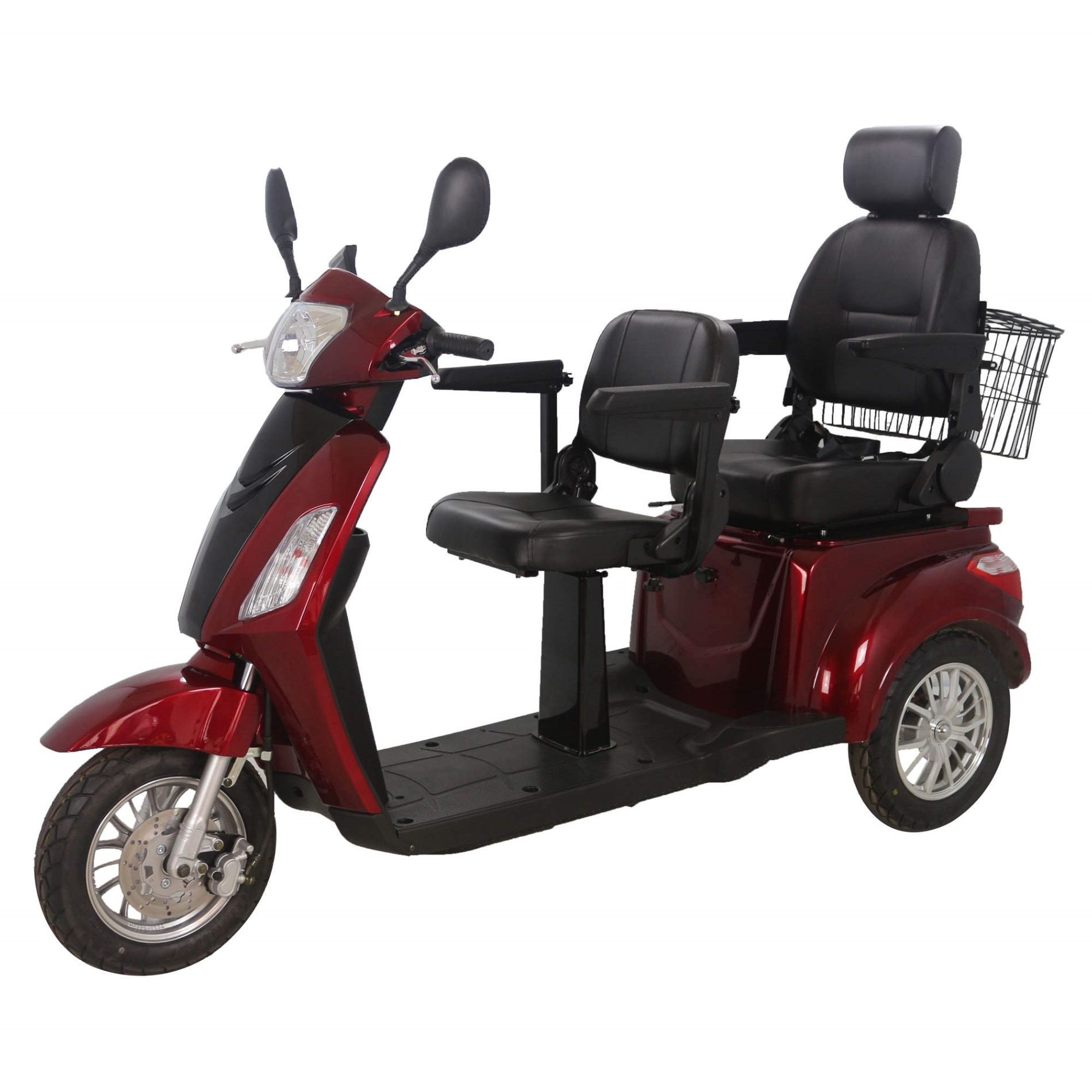 3 Wheel Electric Scooter With 2 Seat