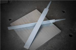 Mill files with double round edges