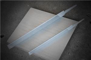 Mill files with single round edge