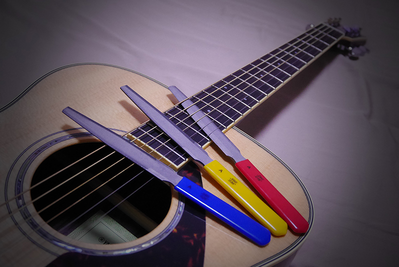 Double Edge Tapered Nut Files for Acoustic Guitar