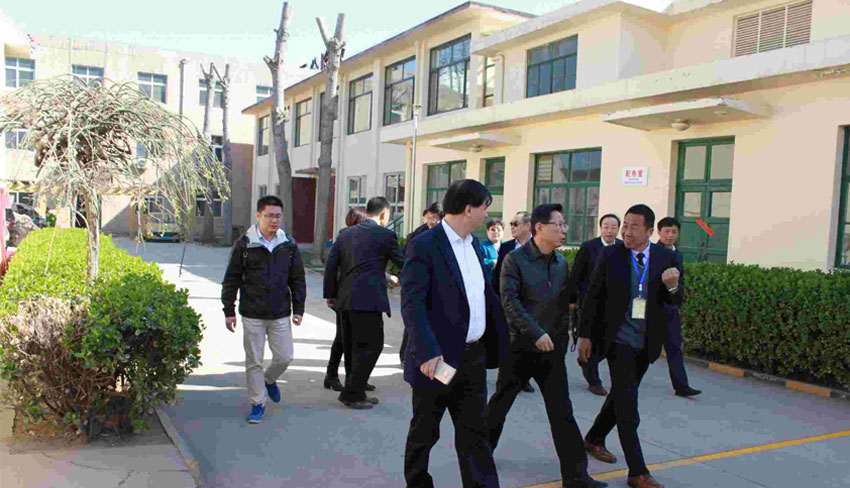Leaders Visit The Factory