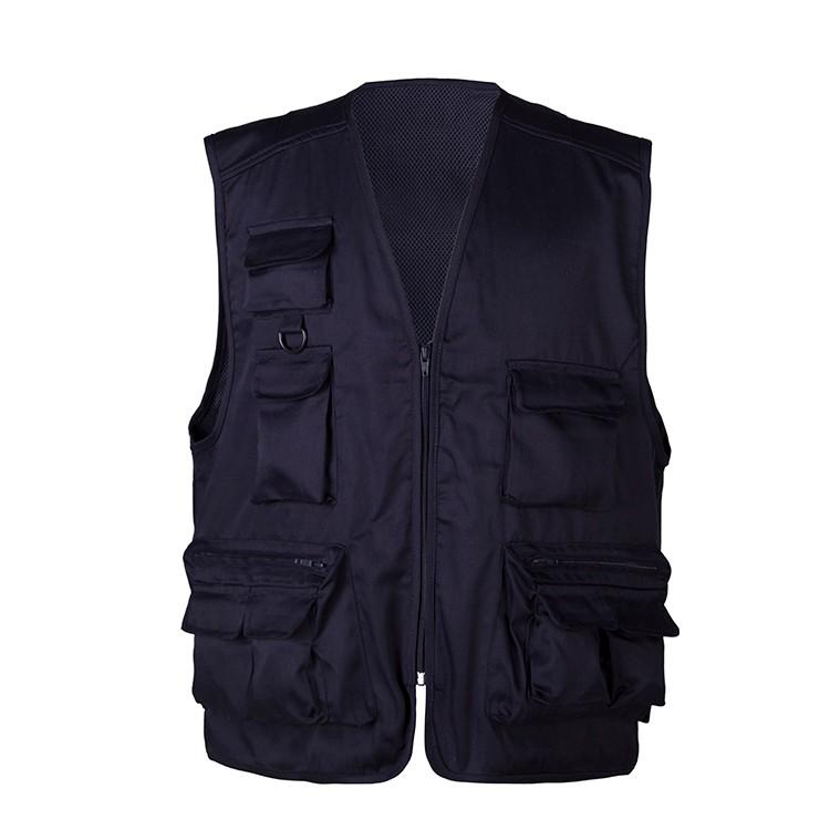 Cotton fabric for multi pocket vest composition characteristics
