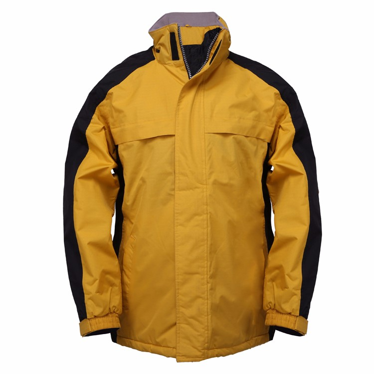 Coated man jacket with advantages