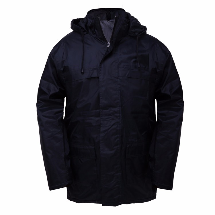 Simple distinction between nylon and polyester fabrics for waterproof jacket distinction method