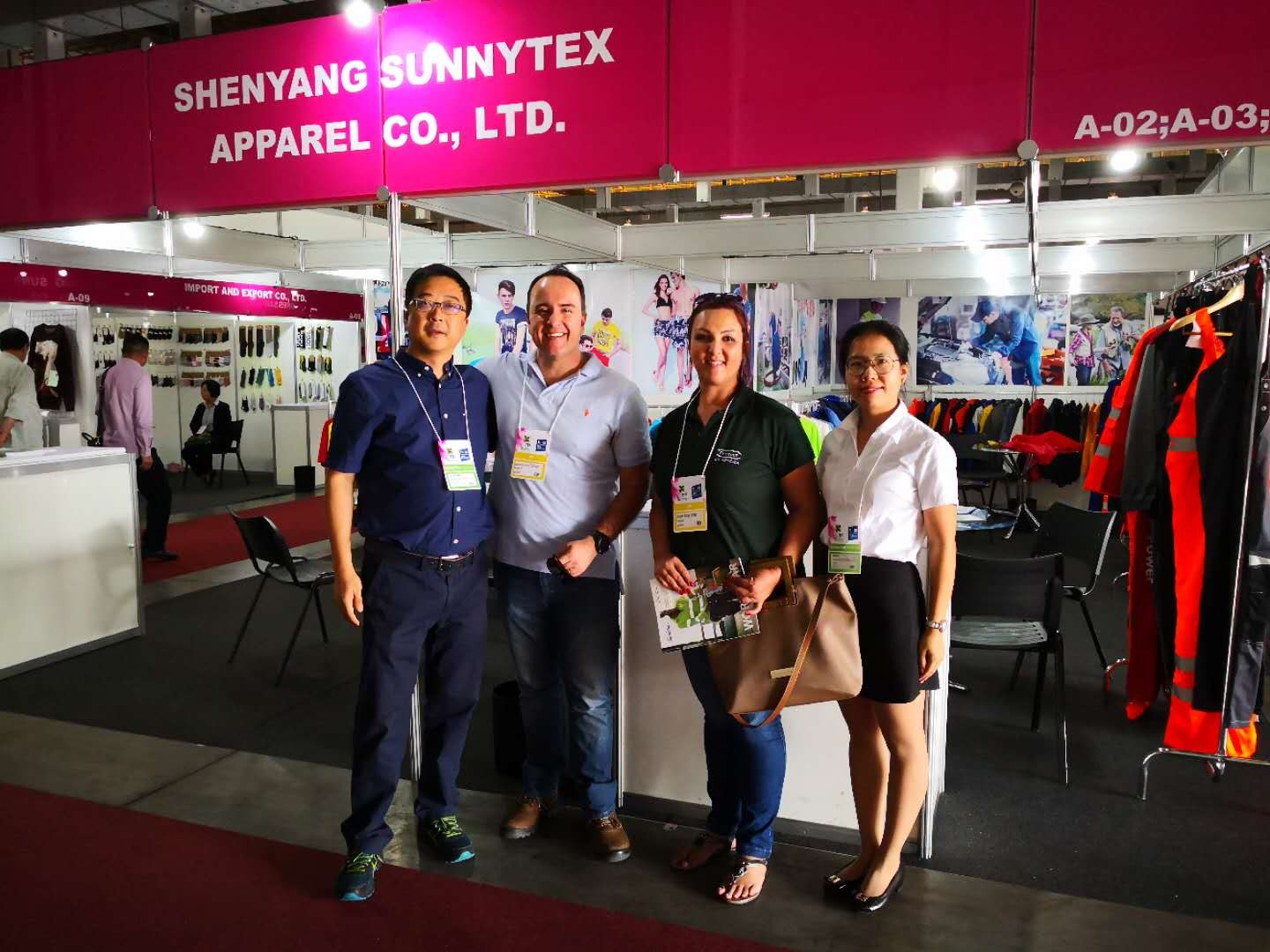 The Gotex Fair in Brazil about work clothes part 2