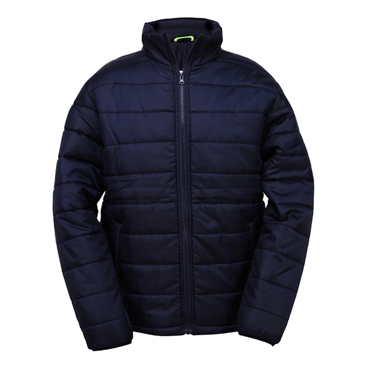 Quilted jacket with advantages
