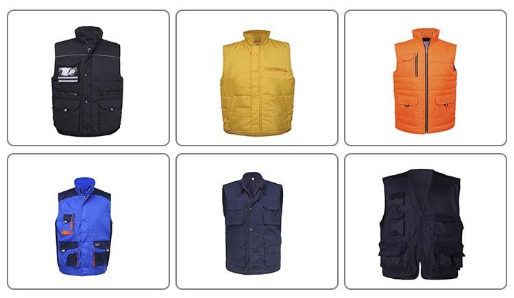 Sleeveless Winter Warm Jacket Waterproof