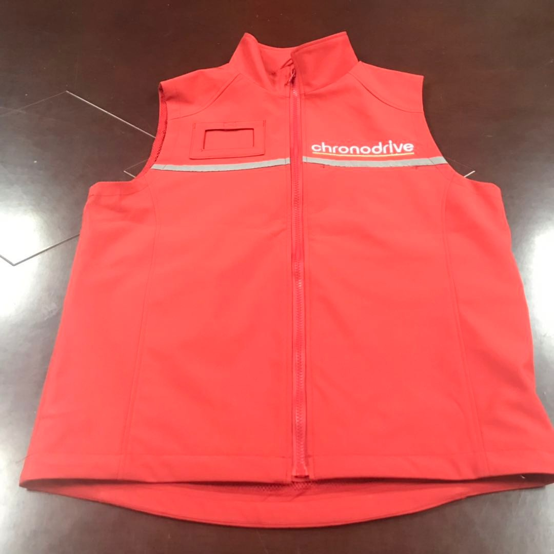 Softshell vest export to France