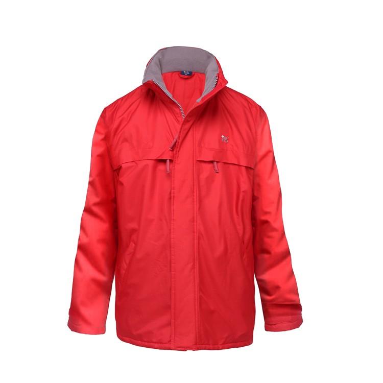 2019 Cotton Polyester Jacket High Quality Jackette For Men Orange Softshell Jacket