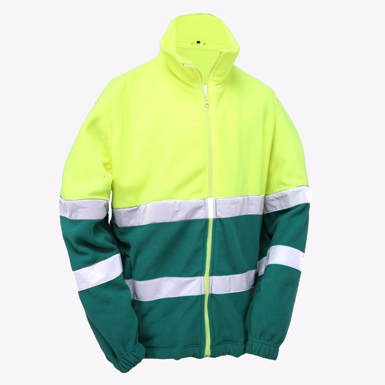 2019 Yellow Security Jacket High Quality High Visibility Pink Safety Jacket Yellow Reflective Jacket