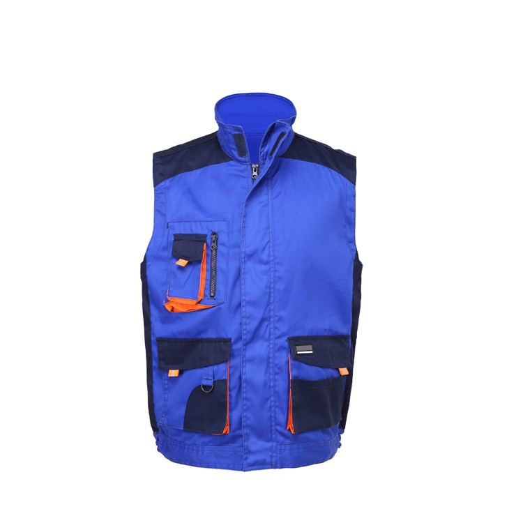 OEM security vest waistcoat with multi pockets