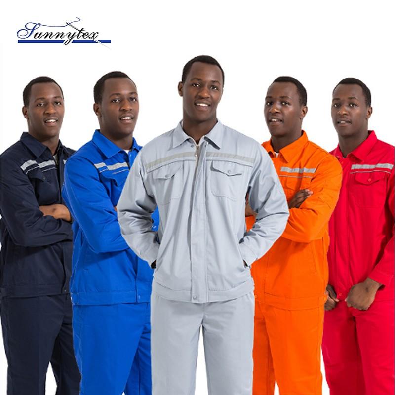 2019 Khaki Coveralls High Quality Labour Suit Welding Uniform
