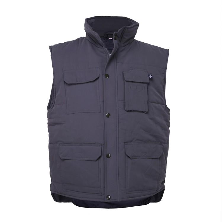 Winter Vest with nylon fabric