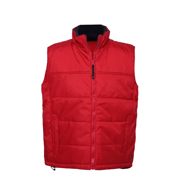 Sleeveless Vest about Nylon fabric features