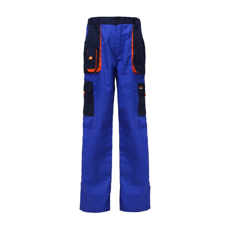 Cleaner navy blue painter mens uniform work bib overalls