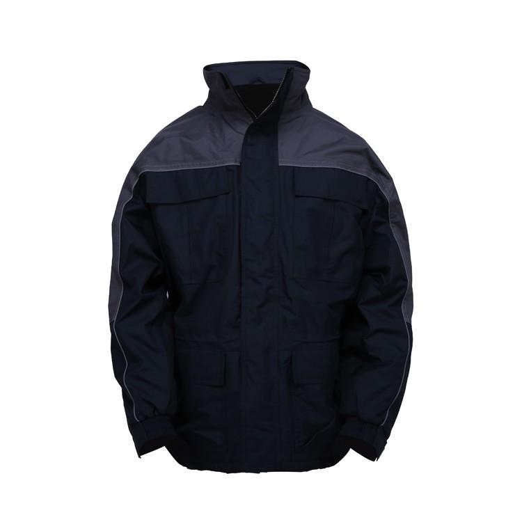 cold room jacket corporate anorak winter muti pocket jacket