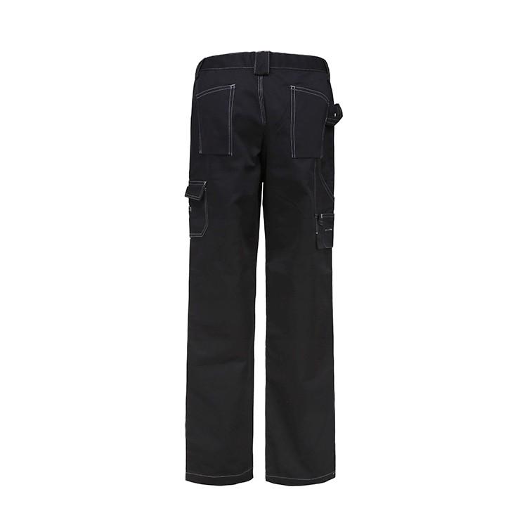 Mens poly cotton knee pad work pants cheap chino custom trousers