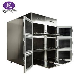 Réfrigérateur de corps de chambres de morgue de chambres froides de morgue les plus populaires