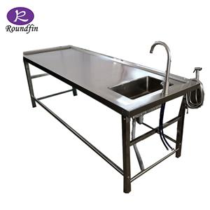 Hot Sale Laboratory Funeral Equipments Morgue Equipments Corpse Dissection Table