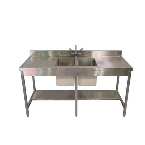 محطة تحنيط الفولاذ المقاوم للصدأ طاولة المشرحة