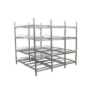Support de réfrigérateur de support de stockage de cadavre d'acier inoxydable durable bon marché médical