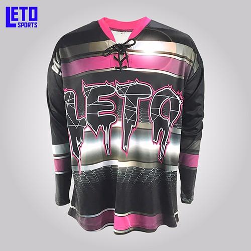 Custom Sublimation Goalie Blank Ice Hockey Jersey