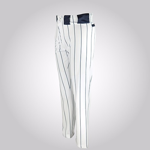 Youth Open Bottom Baseball Pants with striped