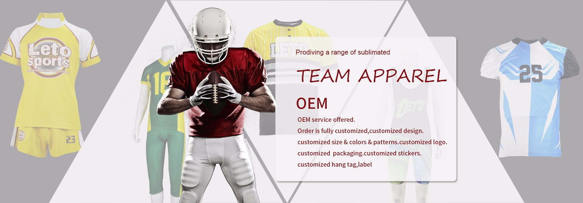 ad01d75f4 Comprar Uniformes de futebol americano